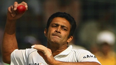 Indian Cricket Spin Bowler Anil Kumble