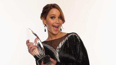 Jennifer Lawrence Win Peoples Choice Award Photo