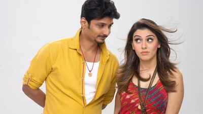 Jiiva And Hansika in Pokkiri Raja Movie
