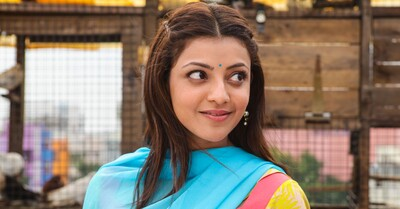 Kajal Aggarwal in Maari Film Photo
