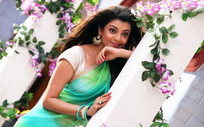 Kajal Aggarwal in Song Scene Photo