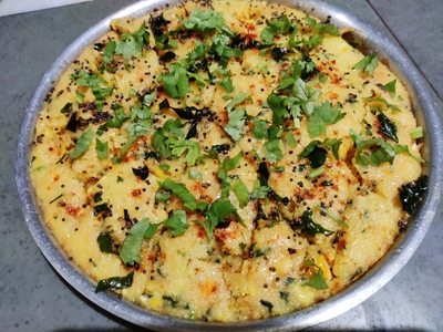 Khaman Gujarati Food Dish