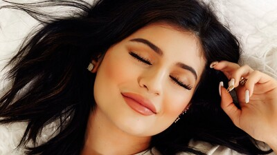 Kylie Jenner Sleeping HD Photography