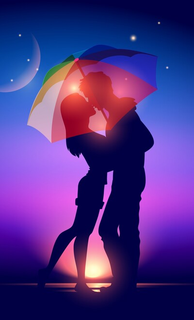 Love Couple Romance Mobile Photo