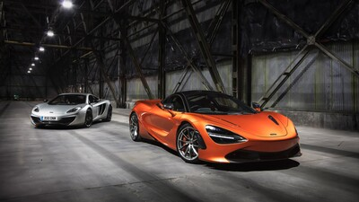 Maclaren Luxury Car 4K Photo