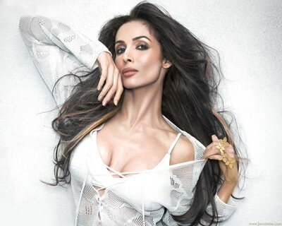 Malaika Arora Photoshoot In White Top