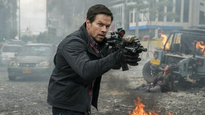 Mark Wahlberg in Mile 22 Movie