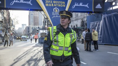 Mark Wahlberg in Patriots Day Movie