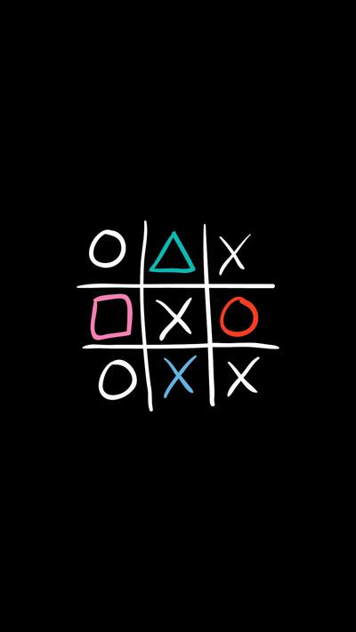 Mobile Wallpaper of Tic Tac Toe Game