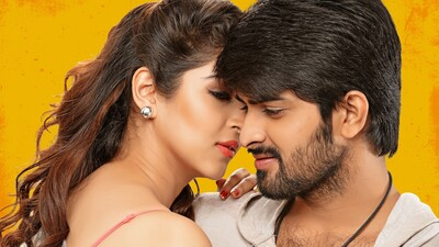 Naga Shourya And Sonarika Bhadoria in Jadoogadu Movie