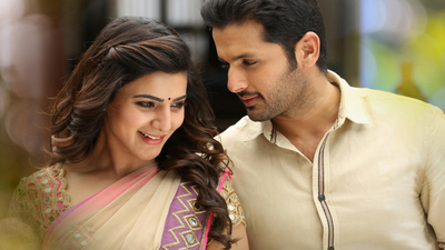 Nithin And Samantha in A Aa Movie
