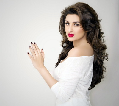 Parineeti Chopra in Red Lips