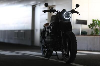 Photography of Parked BMW Motorcycle 5K Pic