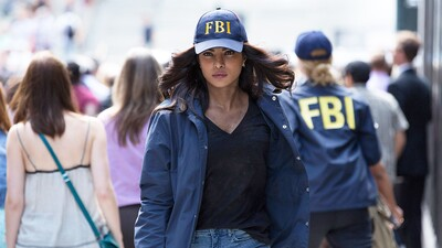 Priyanka Chopra as FBI Agent in Movie Photo