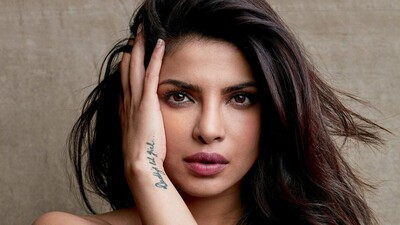 Priyanka Chopra with Hand Tattoo Famous Indian Celebrity