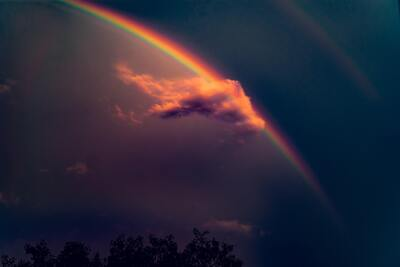 Rainbow in the Sky Wallpaper
