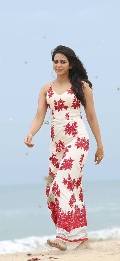 Rakul Preet on Beach