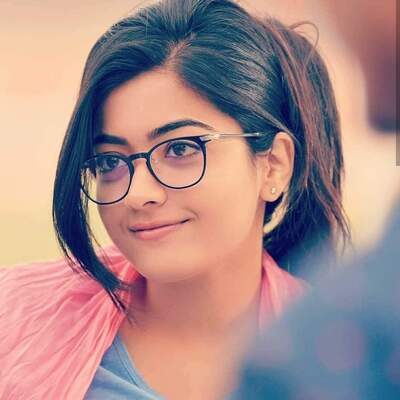 Rashmika Mandanna in Eye Galsses