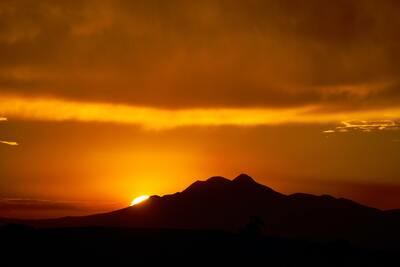 Rising Sun Nature Pic