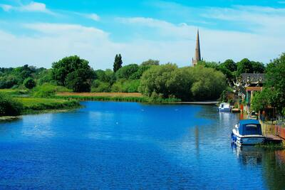 River Great Ouse England HD Wallpaper
