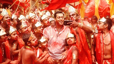 Salman Khan in Bajrangi Bhaijaan Movie Song