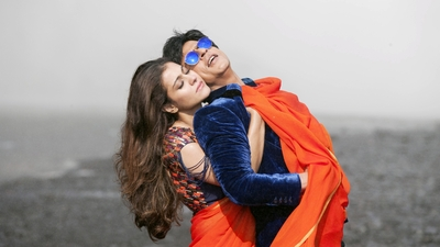 Shahrukh Khan And Kajol in Dilwale Movie Song