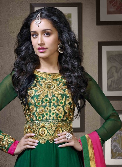 Shraddha Kapoor In Anarkali Dress Photo