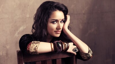 Shraddha Kapoor on Chair Cute Photo