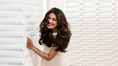 Smiling Priyanka Chopra in White Dress Photo