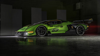 Sport Car of Lamborghini 4K Pic