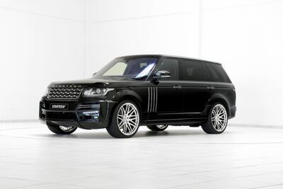 Startech Land Rover Black Car