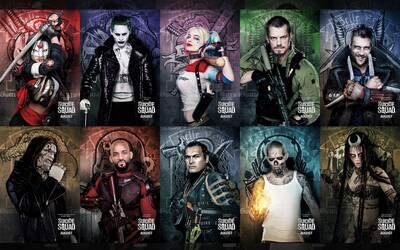 Suicide Squad All Film Fictional Character with Will Smith