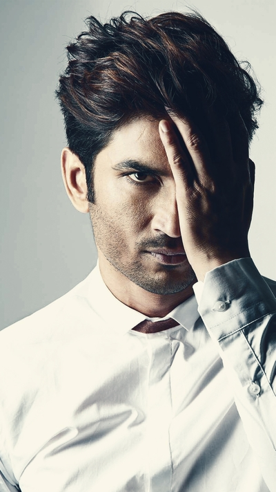 Sushant Singh Rajput In White
