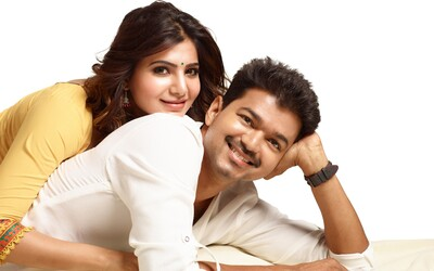 Tamil Actor Vijay And Samantha Photoshoot