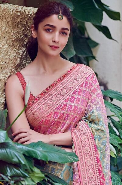 Traditional Look of Alia Bhatt