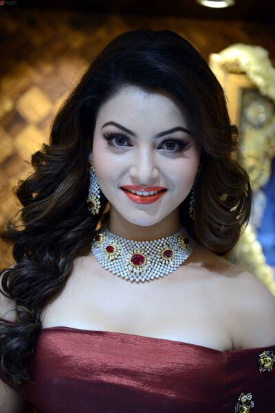 Urvashi Rautela in Beautiful Jwellery Photo
