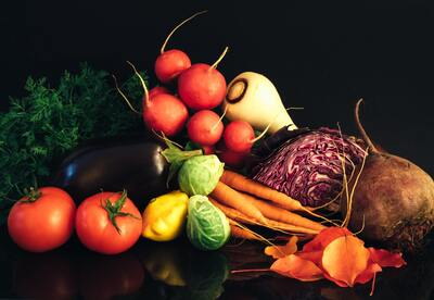 Vegetables Background Photo