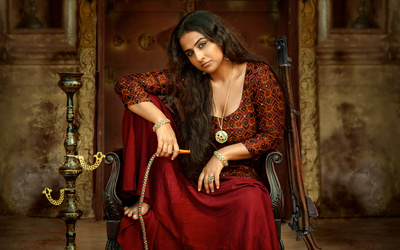 Vidya Balan as Begum Jaan in Movie Photo
