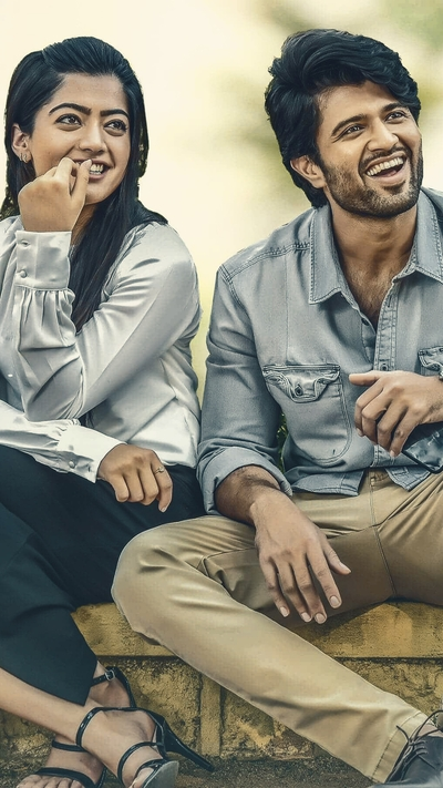 Vijay Deverakonda and Rashmika Mandanna in Movie Geetha Govindam