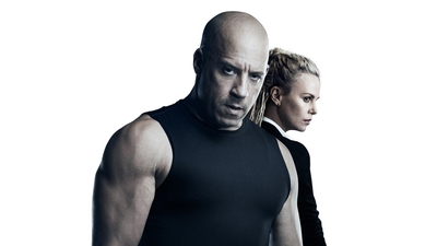 Vin Diesel And Charlize Theron in The Fate of The Furious Movie