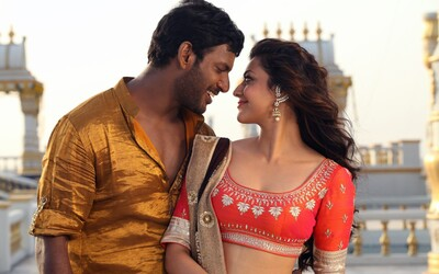 Vishal And Kajal in Paayum Puli Movie