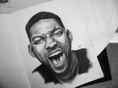 Will Smith Painting