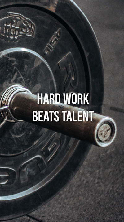 Work Hard Quote