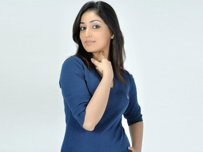Yami Gautam In Blue Sweater