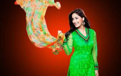 Yami Gautam In Green Indian Attire