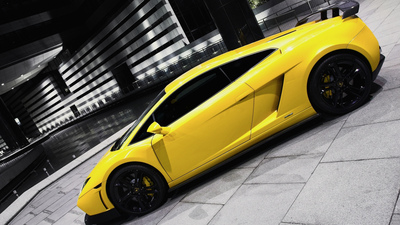 Yellow Lamborghini Car Wallpaper