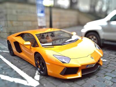 Yellow Sports Lamborghini Car During Day Time
